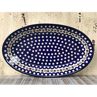 29.5 x 18 cm, plate, oval, tradition 6 - BSN 10598