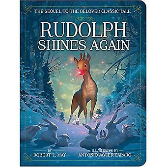 Rudolph schijnt weer (klassieke Board boeken) [Board boek]