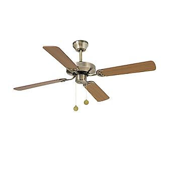 Faro - Yakarta Medium Antique Brass Ceiling Fan With / Without Light FARO33711