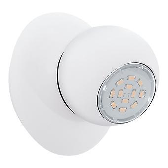 Eglo - Norbello 3 único luz LED Spotlight encaixe no revestimento branco EG93167