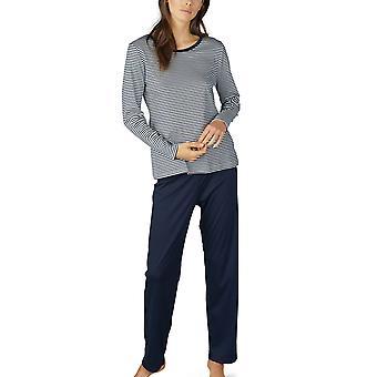 Conjunto de pijama de algodón a rayas de Paula de Mey 14951 mujeres