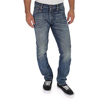 R13 Keaton Blue Cotton Jeans