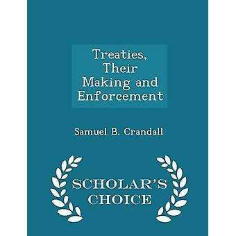 条約クランドール ・ サミュエル B によって彼らと施行学者チョイス版