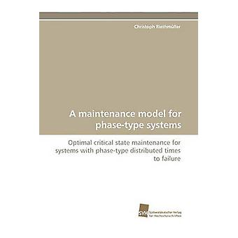 A Maintenance Model for PhaseType Systems by Riethmuller & Christopher James