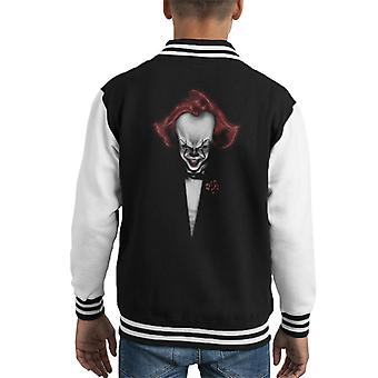 Der Pate mit Clown Kopf Kid Varsity Jacket