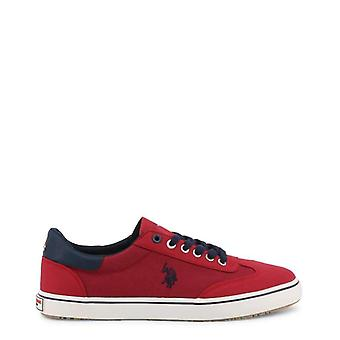 U.S. Polo Men Red Sneakers -- MARC614384