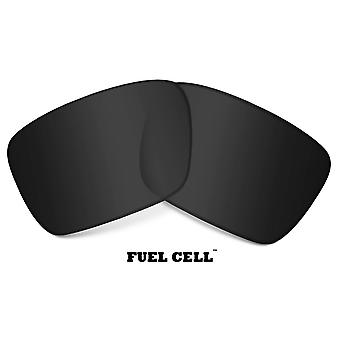 FUEL CELL Replacement Lenses Polarized Black & Silver by SEEK fits OAKLEY