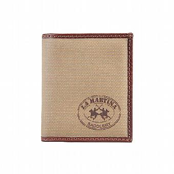 La Martina Wallet men Brown