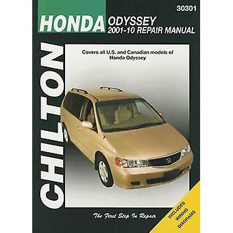 Honda Odyssey Automotive Repair Manual Chilton - 2001-10 by John A Weg