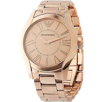 Emporio Armani Ar2061 Classic Rose-oro acero inoxidable reloj de caballero