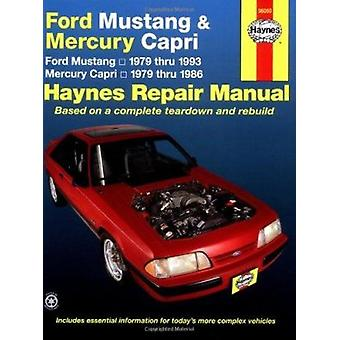 Ford Mustang Mercury Capri Automotive Repair Manual (Revised edition)
