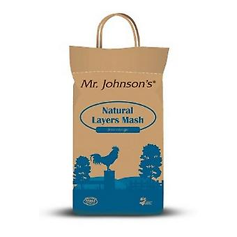 Mr Johnsons Natural Layers Mash Poultry Food