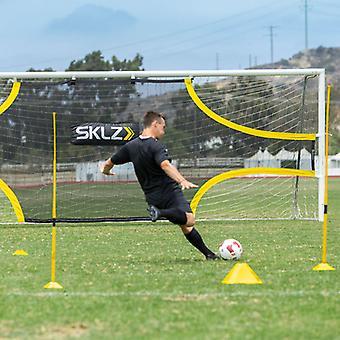 Sklz Goalshot Football Practice Shot Target Net for 21'x7' Goal