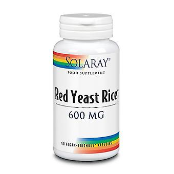 Solaray Red Yeast Rice 600mg Capsules 60 (69474)