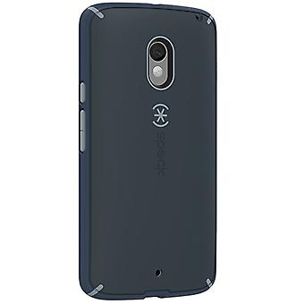Speck MightyShell Case for Motorola Droid Maxx 2 - Charcoal/Nickel Gray