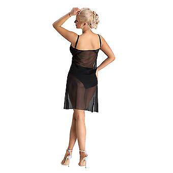 Nessa Femme Rihanna Noir Non-Wired Night Gown Night Gown Night Dress