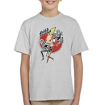 Flash Gordon Lightning Bolt Kid's T-Shirt