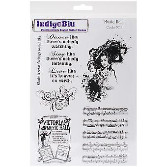 Indigoblu Cling Mounted Stamp 8