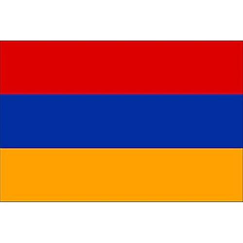 Armenian Flag 5ft x 3ft With Eyelets For Hanging