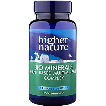 Mayor naturaleza Bio minerales, 90 tabletas. Vegano.