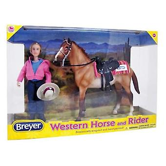 Breyer Western Horse And Rider in September - 1:12