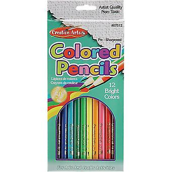 Creative Arts Colored Pencils 12/Pkg-12/Pkg 67512