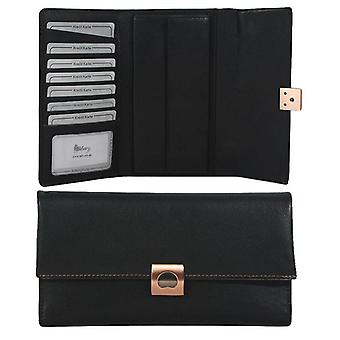 Delsey Volupte leather wallet 001563073-00