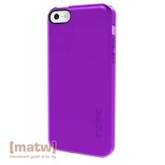 Incipio feather clear cover case iPhone 5C purple