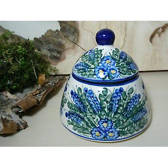 Sugar / jam jar, unique 45 - Bunzlau pottery tableware - BSN 6617