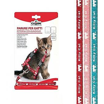 Camon Harness & Leash Reflective For Cat 8x1200 mm
