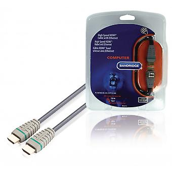 Bandridge High speed HDMI ® cable with ethernet 5.00 m