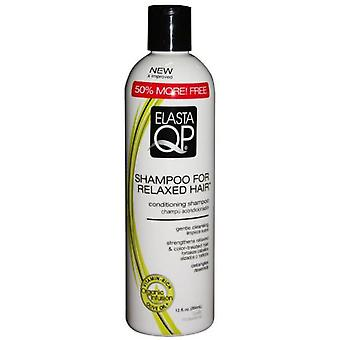 Elasta Qp Relaxed Hair Shampoo 12oz - (Hygiene and health , Shower and bath gel)