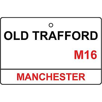 Manchester Utd / Old Trafford Street Sign Car Air Freshener