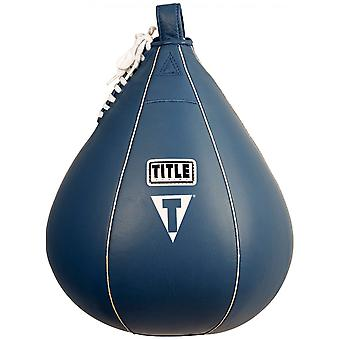 Title Boxing Leather Speed Bag - XL (10