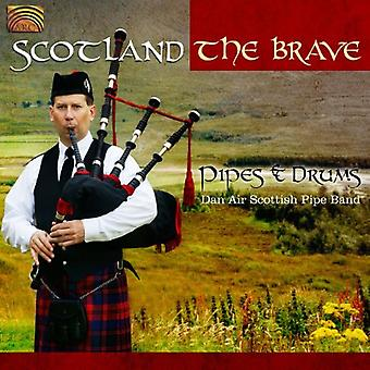 Dan Air Scottish Pipe Band - Scotland the Brave: pijpen & Drums [CD] USA import