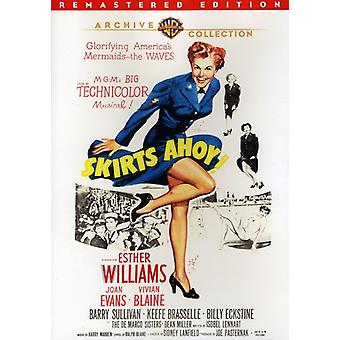 Skirts Ahoy (Remastered) [DVD] USA import