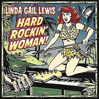 Linda Gail Lewis - Hard Rockin ' Frau [Vinyl] USA import