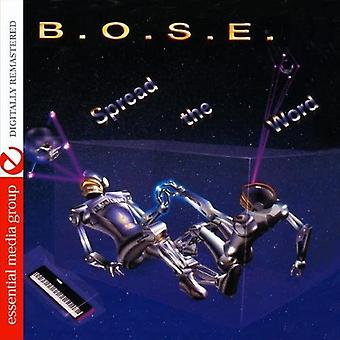 B.O.S.E. - Spread the Word [CD] USA import