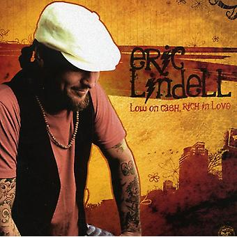 Eric Lindell - Low on Cash Rich in Love [CD] USA import
