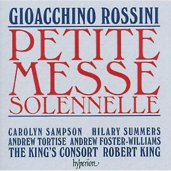 G. Rossini - Rossini: Importación de los E.e.u.u. de la Petite Messe Solennelle [CD]
