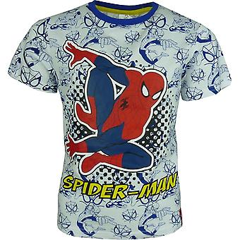 Boys Marvel Spiderman short sleeve T-shirt