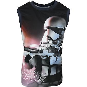 Boys Star Wars Sleeveless T-Shirt / Vest