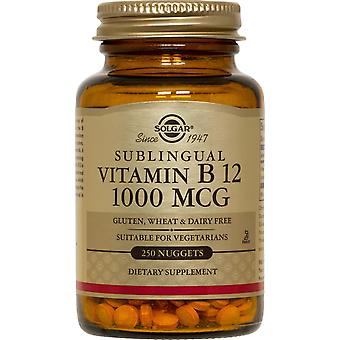 Solgar Sublingual Vitamin B12 1000 mcg Nuggets 250ct