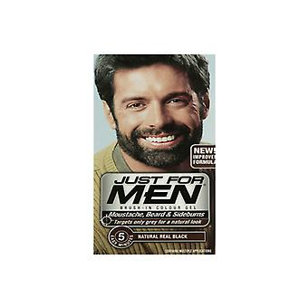 Just For Men Just For Men Brush In Colour Gel Real Black (M55) Facial Hair Colour
