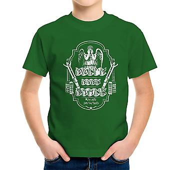 Don't Even Blink Weeping Angels Doctor Who Tardis Kid's T-Shirt