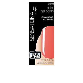 Fing'Rs SENSATIONAIL gel farve #coral solnedgang 7,3