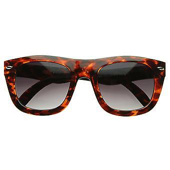 ايندي الحديثة سميكة الإطار غامق منحنى جديد أزياء إيمو القرن انعقدت النظارات الشمسية