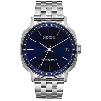 Nixon The Regent II SS Watch - Navy Sunray/Silver
