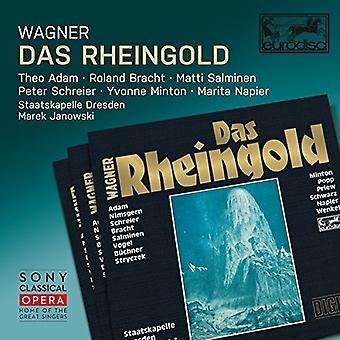 Wagner - Das Rheingold [CD] USA importerer