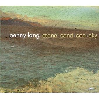 Penny Lang - sten + Sand + havet + himlen [CD] USA import